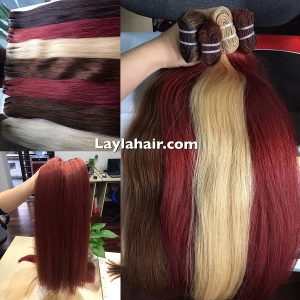 Vietnam-hair-color-weft