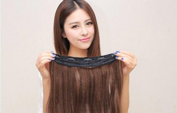 the human hair extensions