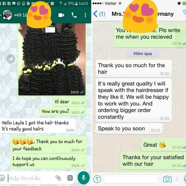 germany customer feedbacks goodhair