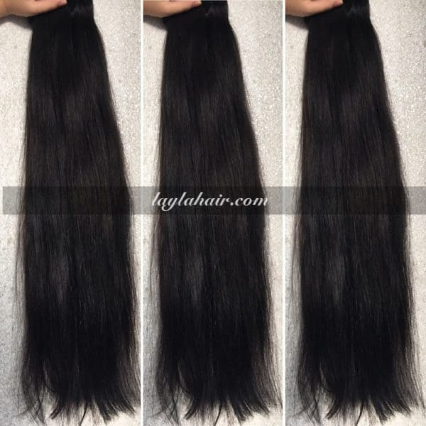 30 inches Weave straight Vietnamese Hair Double Drawn