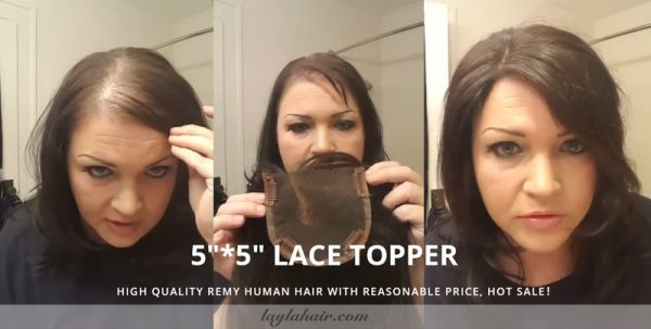 How-to-use-hair-lace-topper-remy-human-hair