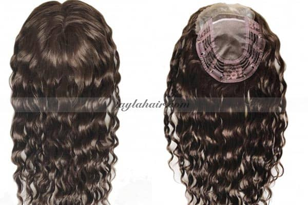 Virgin RemynCurly Hair Toppers Extensions-100 vietnamese hair-laylahair