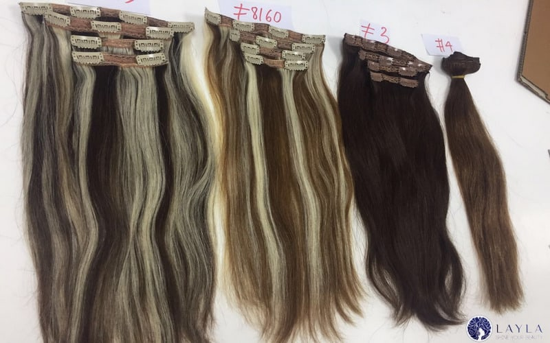 Touching The Basics Of Double Drawn Hair Extensions Clip In