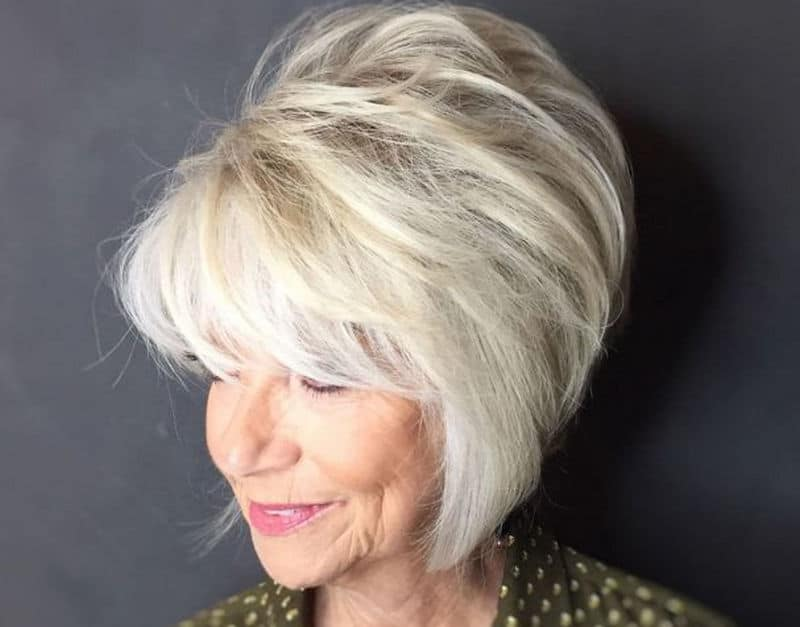 5 Inspiring Hairstyles For Square Face Female Over 50 To
