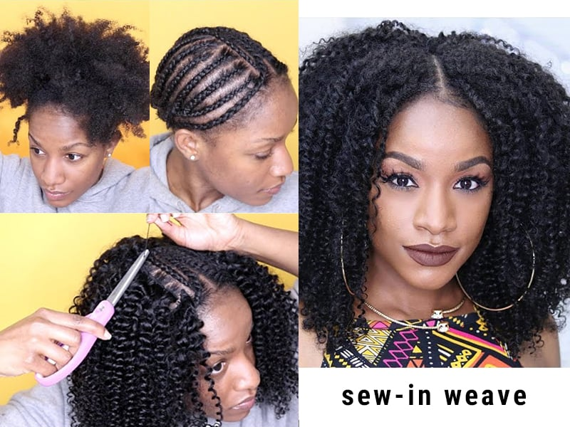 A Practical Guide For How To Apply Full Lace Wigs And Sew-In Weave