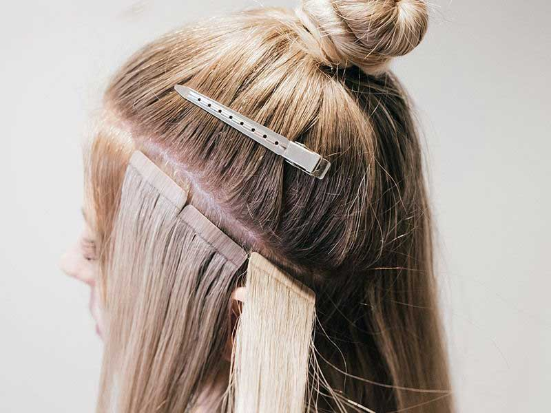 How To Hide Tape In Hair Extensions: Back To Basics!