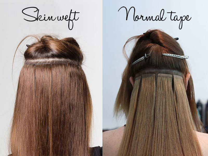 Best Rated In Skin Weft Hair Extensions Review 2019