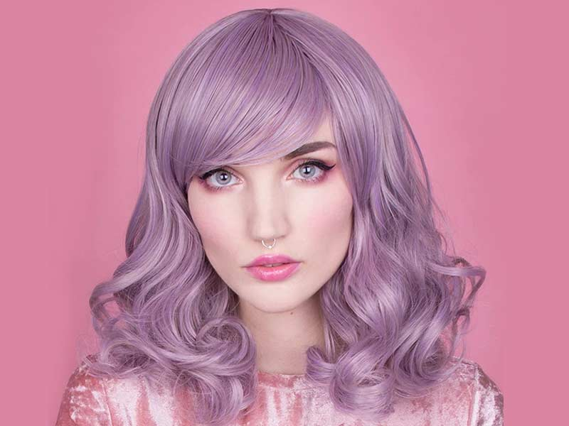 Purple Hair Extensions: Is It Easy To Achieve? | Hair Coloring