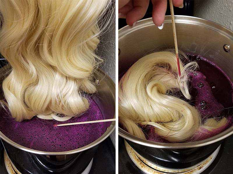 Purple Hair Extensions: Is It Easy To Achieve?   Hair Coloring