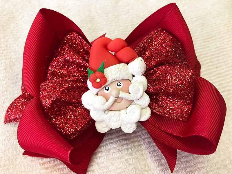 Any Ideas For Christmas Hair Bows? Here's Some Amazing Ideas!
