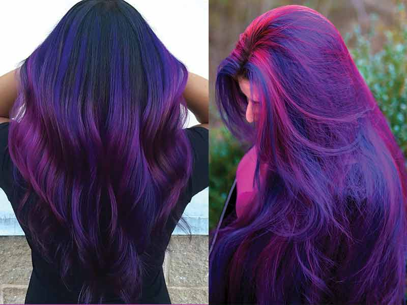 Top 68 Hottest Purple Hair Color You'll Be Wanting In 2020