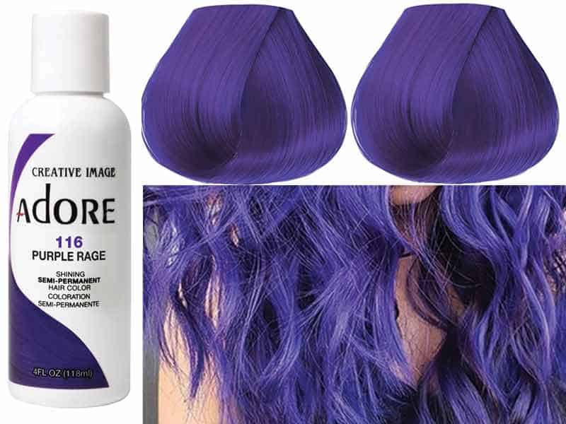 7 Best Purple Hair Dye For Dark Hair Without Bleach