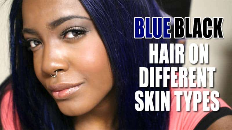 Apply Any Of These 4 Secret Blue Black Hair Tips To Improve Your Locks