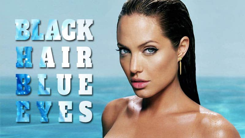 The Undeniable Truth About Black Hair Blue Eyes No One Will You