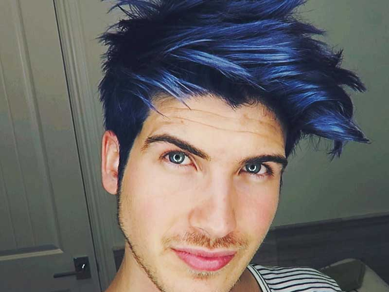 Navy Blue Hair Guys? It's Easy If You Do It Smart
