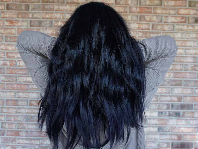 How To Get Navy Blue Hair At Home? - The DIY Secrets