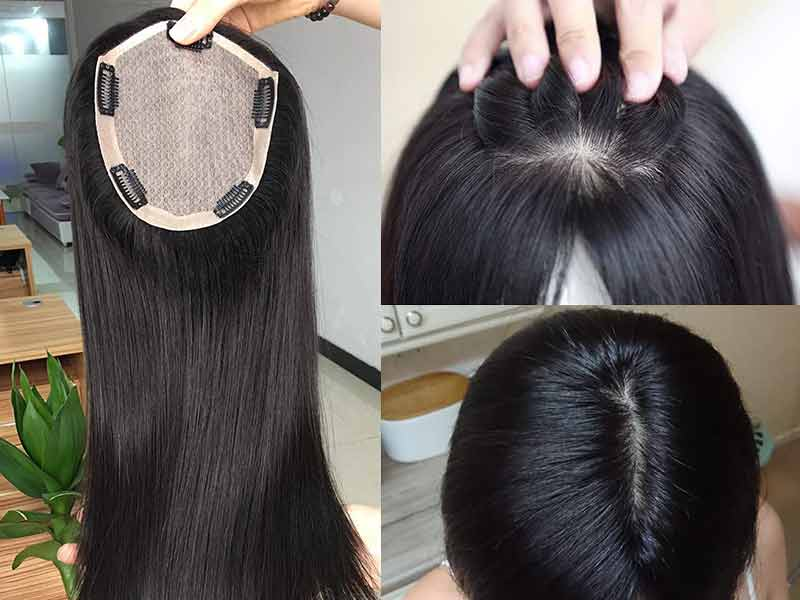 Go For A Silk Top Hairpiece For An Ultra-Realistic Hair Look!