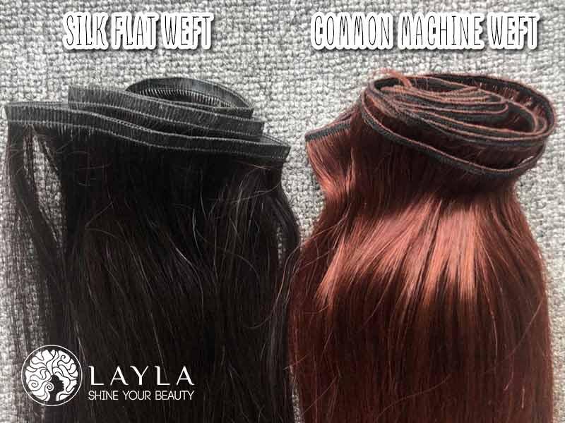 Flat Silk Weft Hair Vs Common Weft Hair: The Never Ending Battle