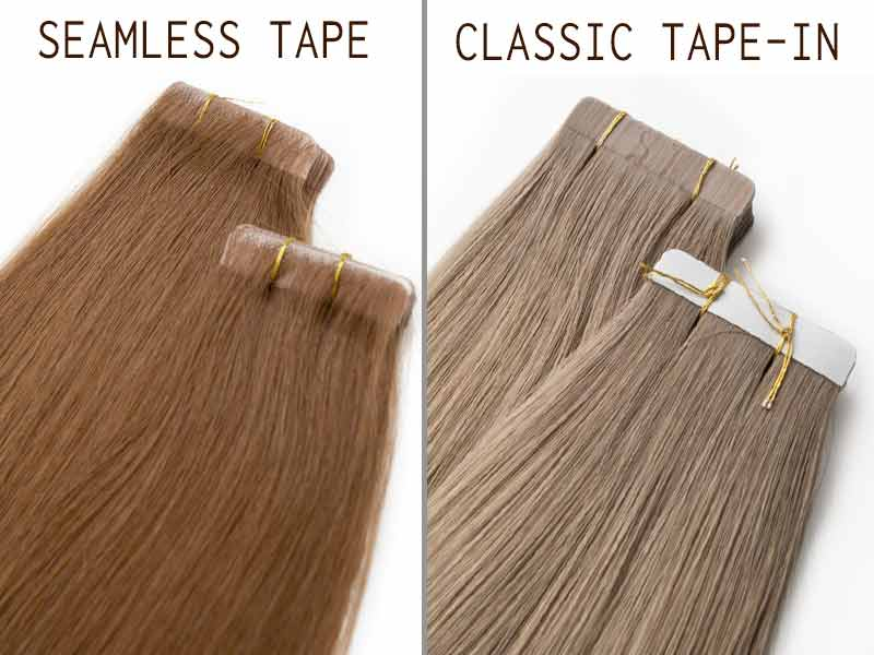 Seamless Tape In Hair Extensions In A Nutshell