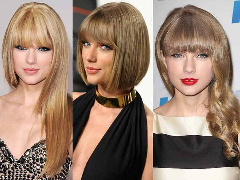 Our Two-Second Guide To Taylor Swift Straight Hair