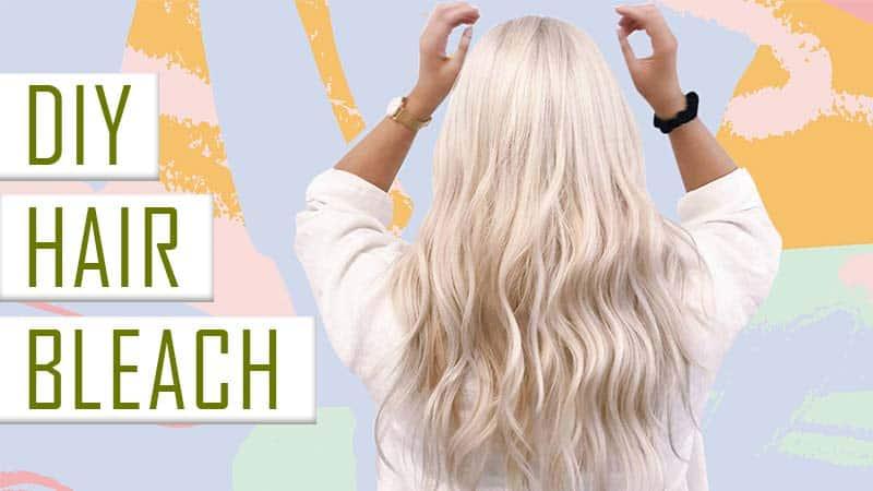 DIY Hair Bleach: Here Is A Method That Is Helping