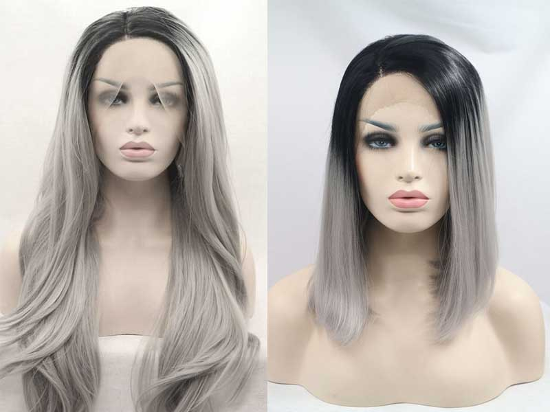 Need More Inspiration With Grey Lace Frontal Wig? Read This!